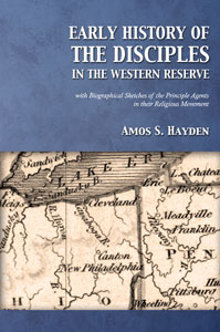 Early History of the Disciples in the Western Reserve (cover)