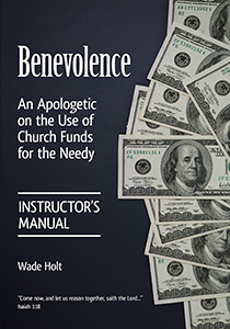 Benevolence: Instructor's Manual (cover)