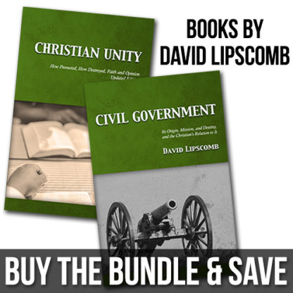 Books by David Lipscomb